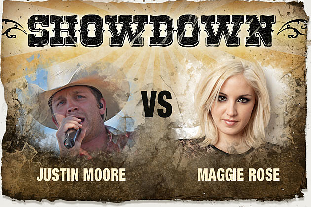 Justin Moore, Maggie Rose