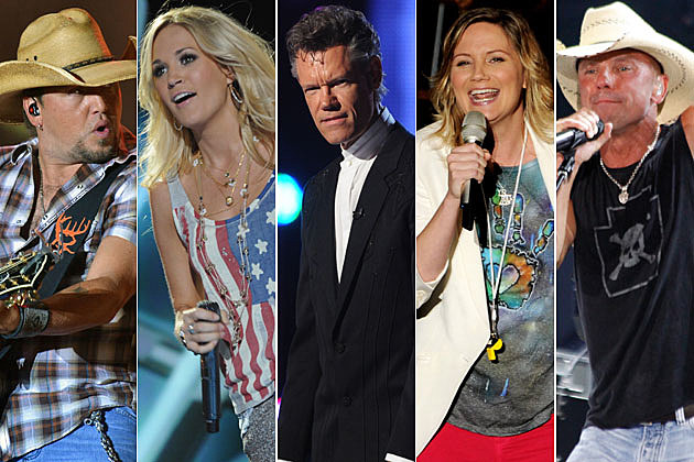 Jason Aldean, Carrie Underwood, Randy Travis, Jenniffer Nettles, Kenny Chesney