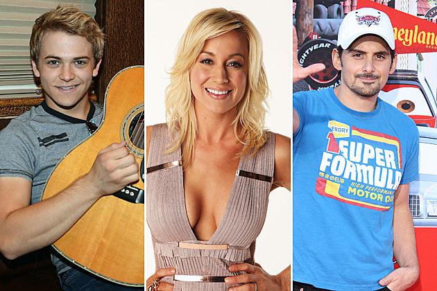 Hunter Hayes, Kellie Pickler, Brad Paisley