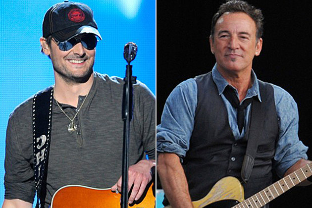 Eric Church, Bruce Springsteen