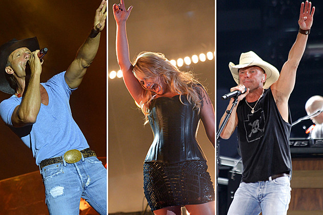 Tim McGraw, Miranda Lambert, Kenny Chesney