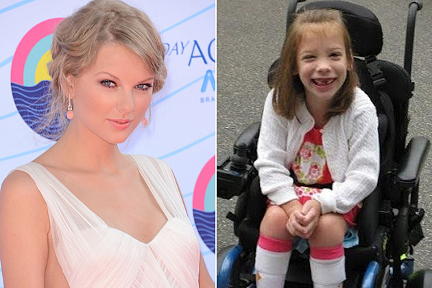 Taylor Swift Mackenzie Cerebral Palsy