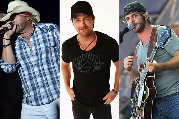 Toby Keith, Kip Moore, Thomas Rhett