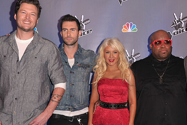 Blake Shelton And The Voice Judges Start Us Up With