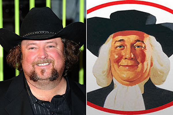Colt Ford And The Quaker Oats Guy Country Star Look Alikes