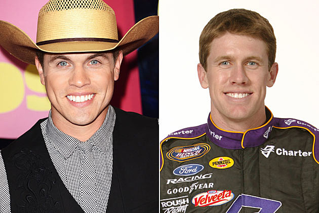 Dustin Lynch, Carl Edwards