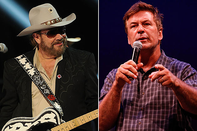 Hank Williams Jr., Alec Baldwin