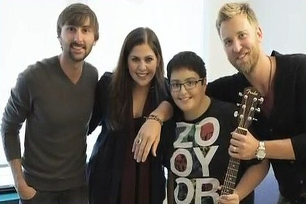 Lady Antebellum and Brian