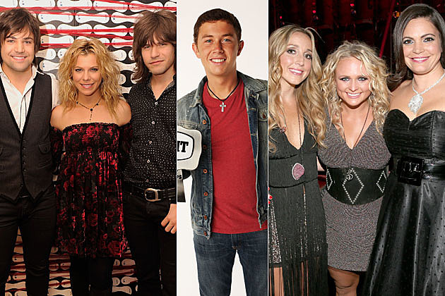 The Band Perry, Scotty McCreery, Pistol Annies