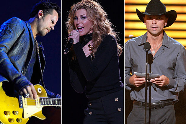 Gary Allan, Faith Hill, Kenny Chesney