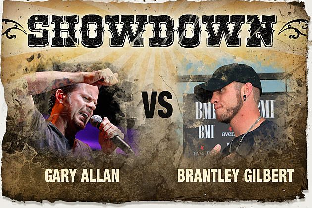 Gary Allan, Brantley Gilbert