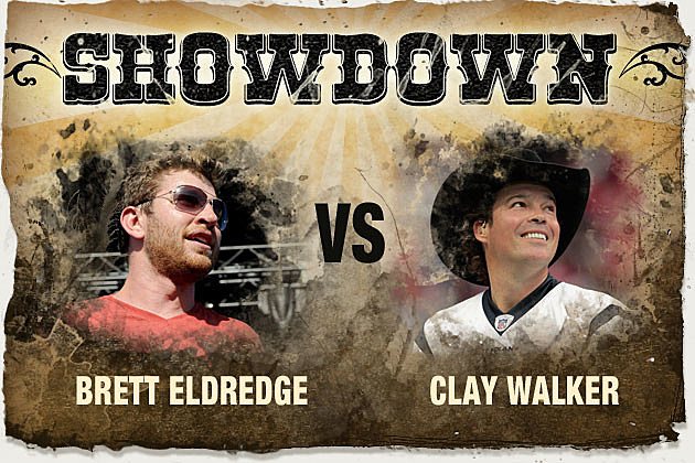 Brett Eldredge, Clay Walker