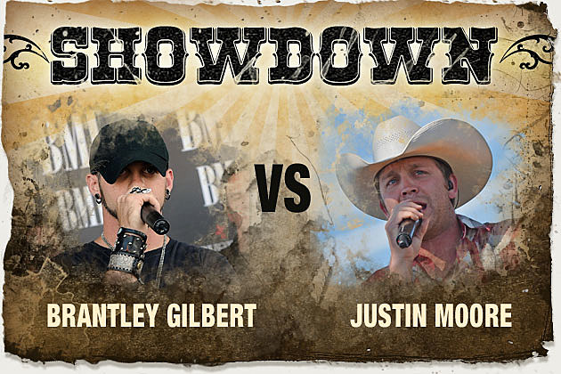 Brantley Gilbert, Justin Moore