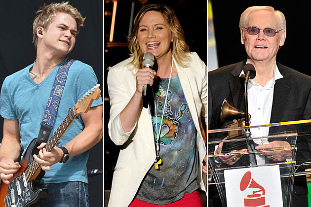 Hunter Hayes, Jennifer Nettles, George Jones