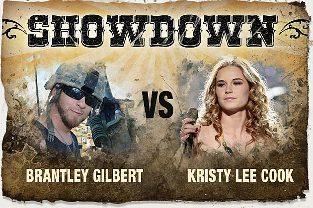 Brantley Gilbert, Kristy Lee Cook