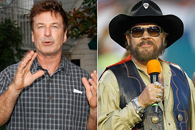 Alec Baldwin, Hank Williams Jr