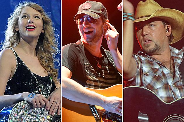 Taylor Swift, Eric Church, Jason Aldean