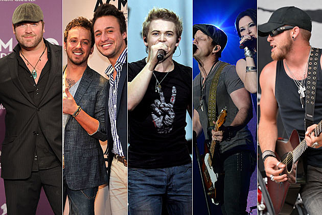 Lee Brice, Love and Theft, Hunter Hayes, Thompson Square, Brantley Gilbert