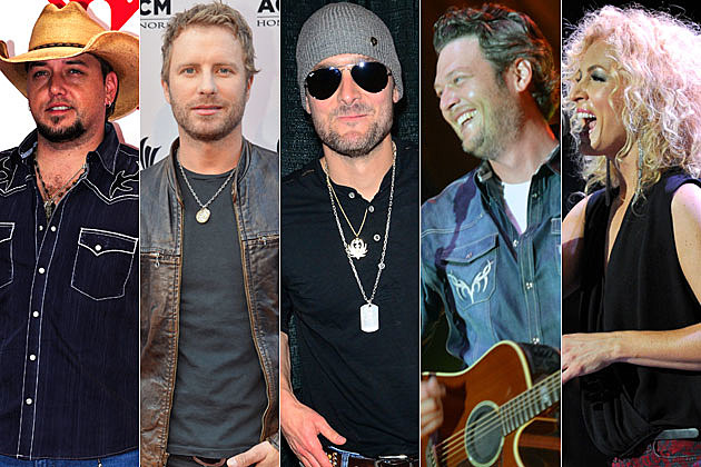 Jason Aldean, Dierks Bentley, Eric Church, Blake Shelton, Little Big Town