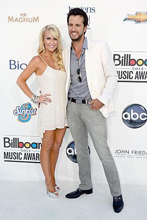 Caroline and Luke Bryan