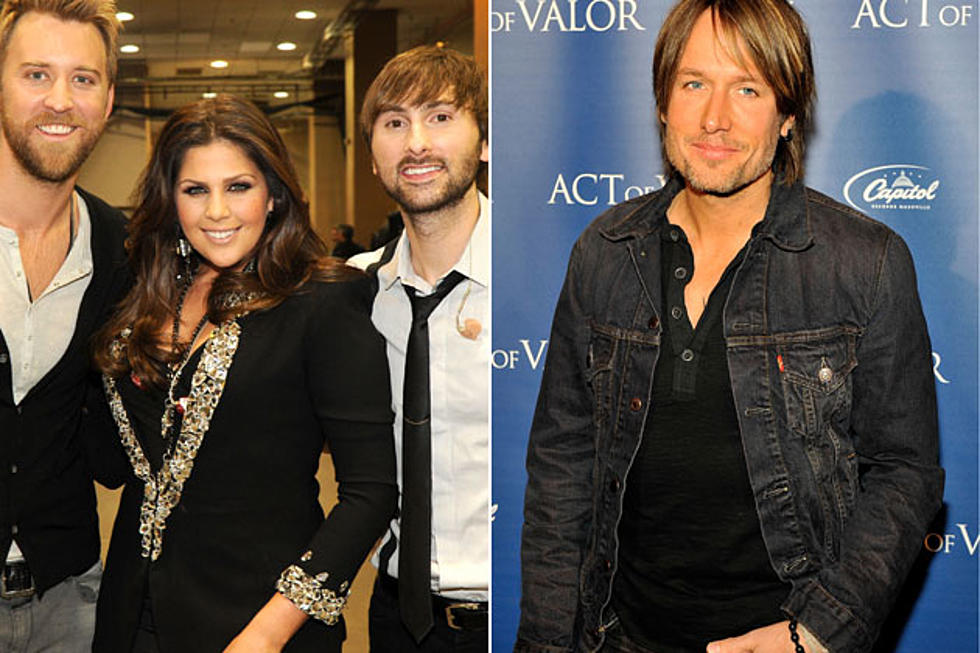 lady antebellum keith urban more booked for 2012 cma country christmas