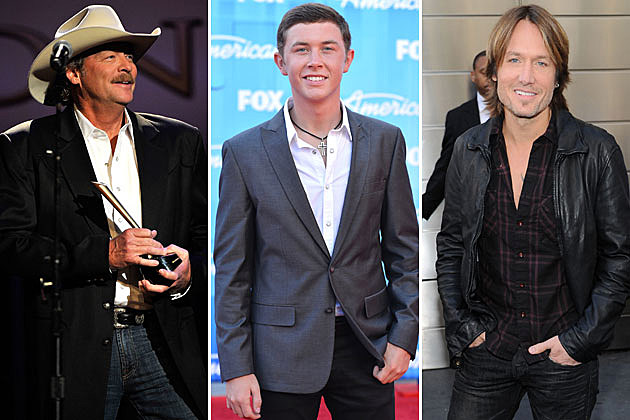 Alan Jackson, Scotty McCreery, Keith Urban