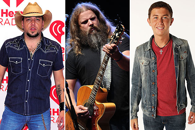 Jason Aldean, Jamey Johnson, Scotty McCreery