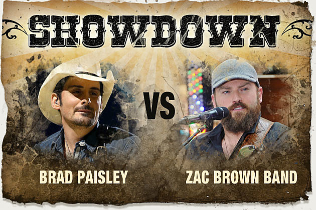 Brad Paisley, Zac Brown
