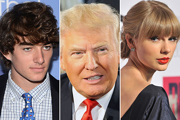 Conor Kennedy, Donald Trump, Taylor Swift