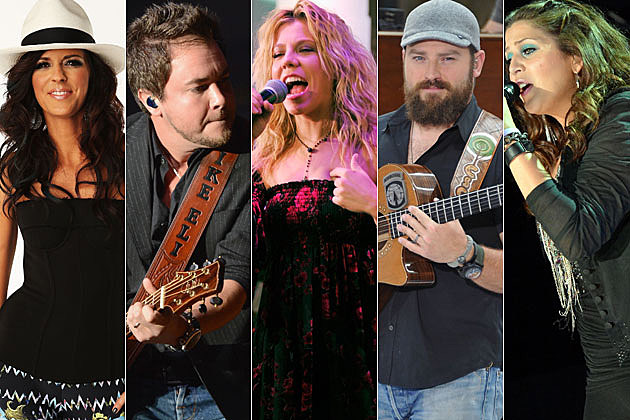 Karen Fairchild, Mike Eli, Kimberly Perry, Zac Brown, Hillary Scott