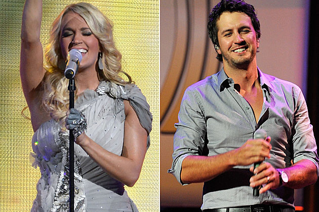 Carrie Underwood, Luke Bryan
