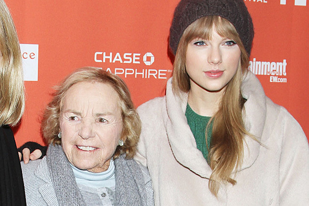 Ethel Kennedy, Taylor Swift
