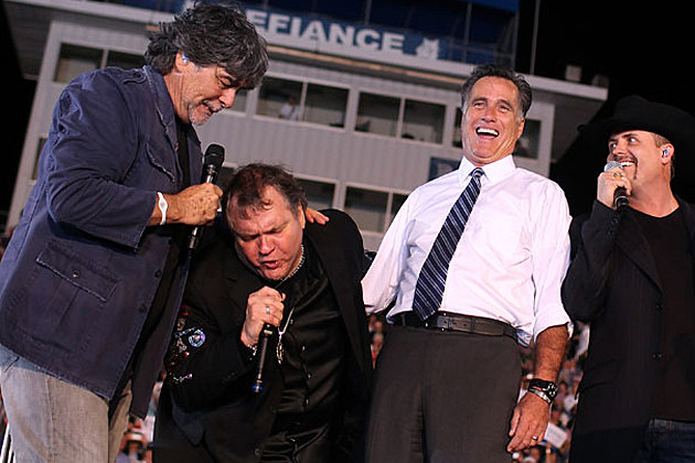 Alabama, Big Rich, Romney, Meat Loaf