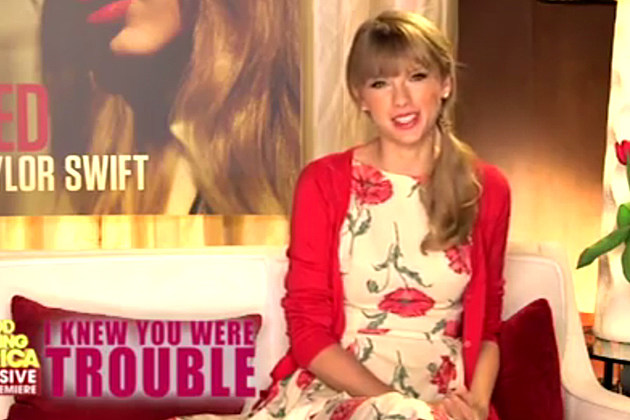 Taylor Swift I Knew You Were Trouble