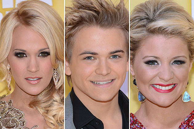 Carrie Underwood, Hunter Hayes, Lauren Alaina