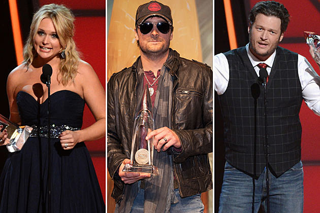 Miranda Lambert, Eric Church, Blake Shelton