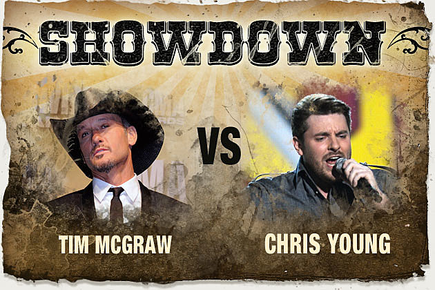 Tim McGraw, Chris Young