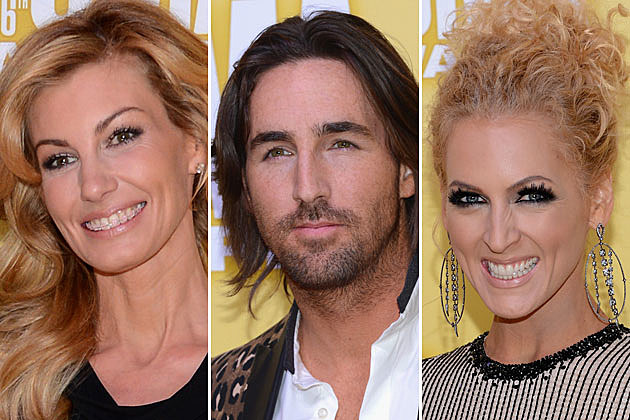 Faith Hill, Jake Owen, Kimberly Schlapman