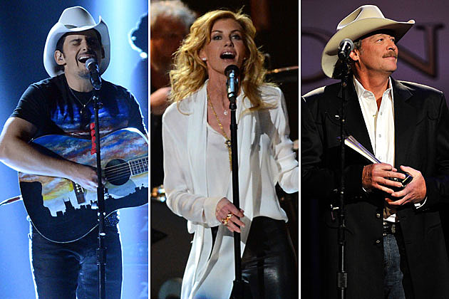 Brad Paisley, Faith Hill, Alan Jackson