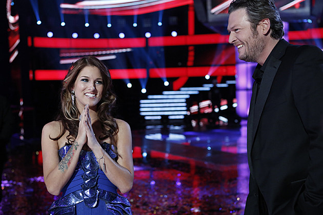 Cassadee Pope Blake Shelton The Voice