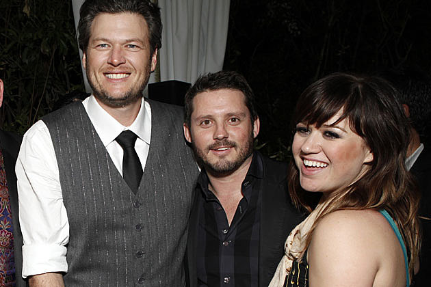 Blake Shelton, Kelly Clarkson & Brandon Blackstock