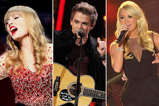 Taylor Swift Hunter Hayes Carrie Underwood Grammy Nominations
