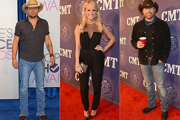 Jason Aldean Carrie Underwood Toby Keith