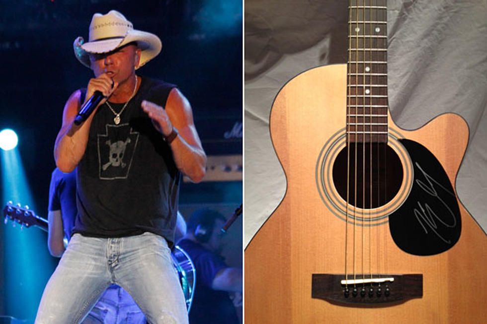 Win an Autographed Kenny Chesney Guitar – 12 Days of Christmas Giveaway