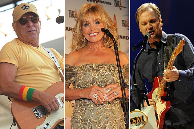 Jimmy Buffett Barbara Mandrell Steve Wariner