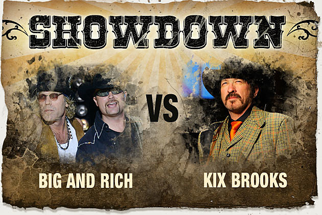 Big and Rich Kix Brooks