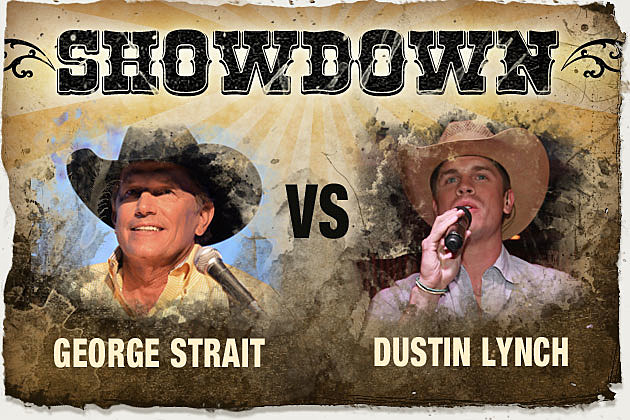 George Strait, Dustin Lynch