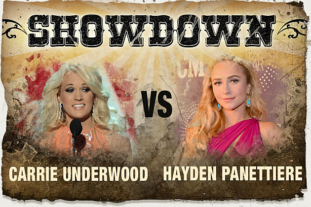 Carrie Underwood Hayden Panettiere