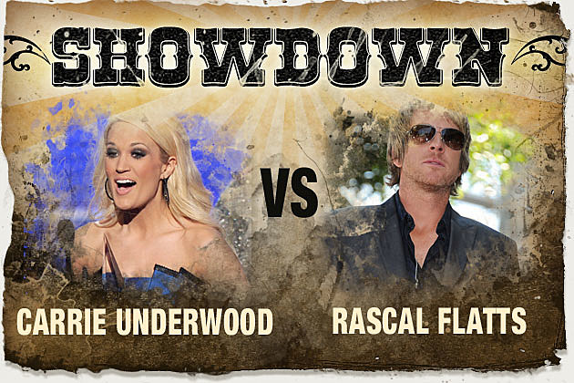 Carrie Underwood, Rascal Flatts