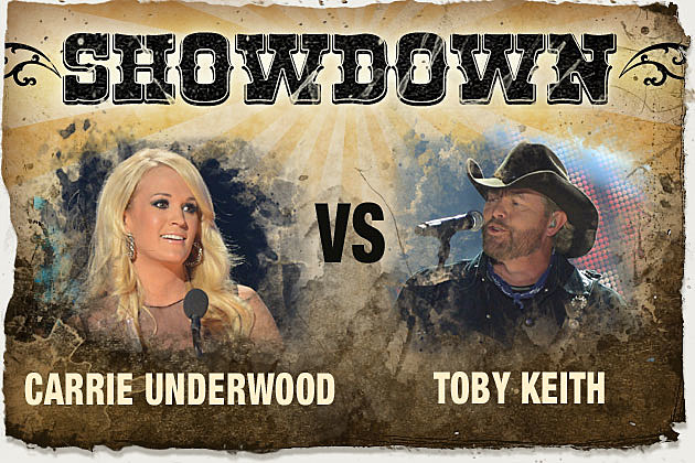 Carrie Underwood, Toby Keith